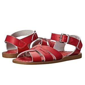 Saltwater Sandals Women's Red Size 6